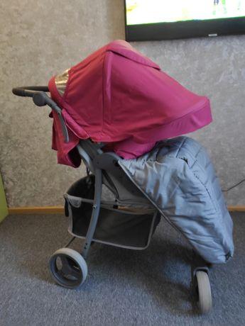 Срочно продам коляску в отличном состоянии 4baby rapid