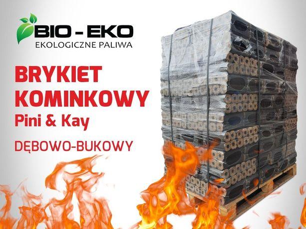 Brykiet FUF kominkowy Pini Kay DĘBOWO-BUKOWY