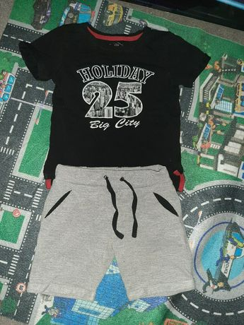 Костюм комплект шорты футболка