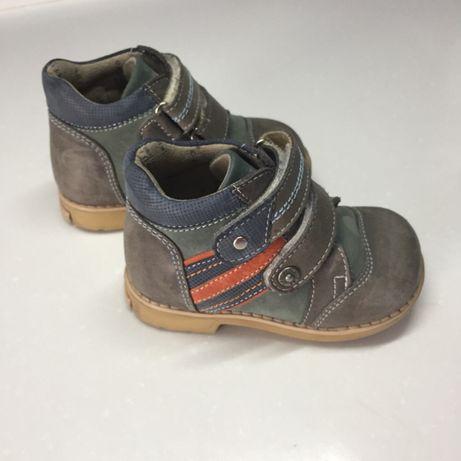 Ботиночки кожаные Ortopedia как новые!