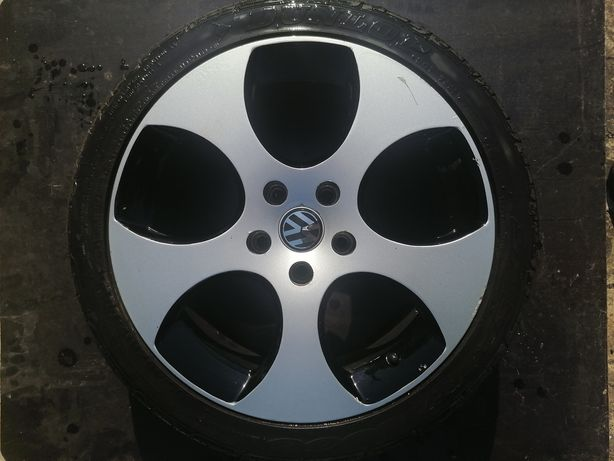 Оригинальные диски VW с шинами