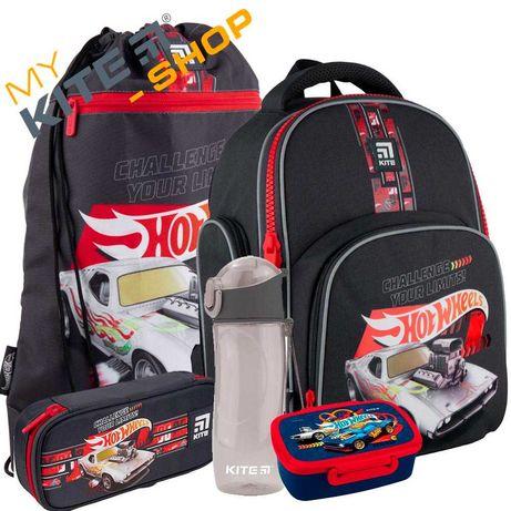 Школьный комплект 5в1 КАЙТ KITE Рюкзак сумка пенал для мальчика