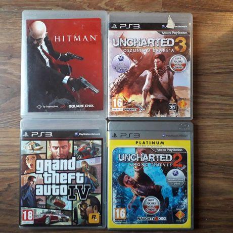 Różne ZESTAWY GIER na konsolę PS3 Playstation 3 także MOVE ruchowe