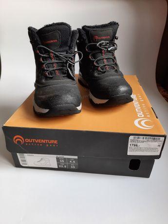 Зимние ботинки outventure crater b 35 размер