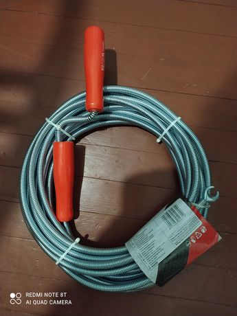 Трос для канализации сантехнический   каналізаційний сантехнічний