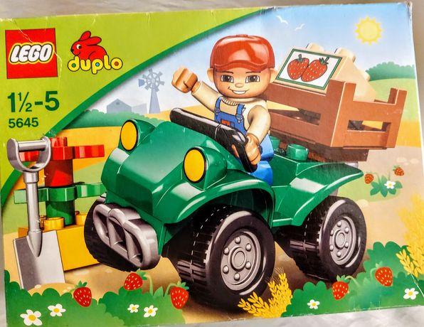 Lego duplo quad farmera duplo 5645 farmer samochód stan jak nowy