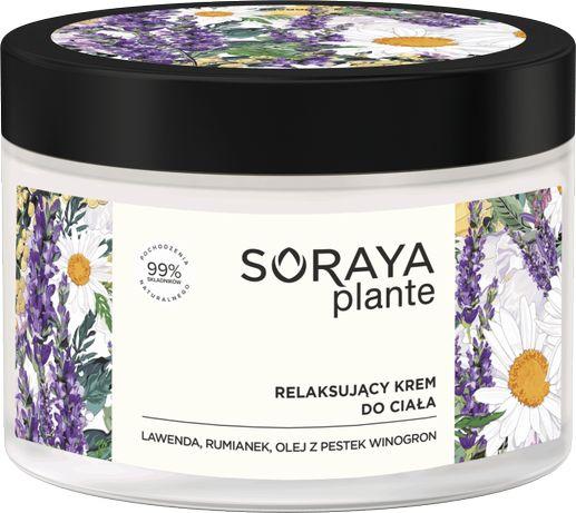 Krem do ciała relaksacyjny SORAYA Plante Lawenda Rumianek 200ml