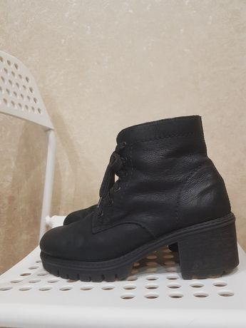 Ботинки Rieker нубук кожа