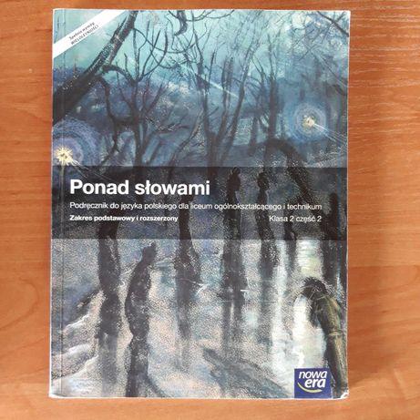 Podręcznik Ponad słowami kl.2 cz.2