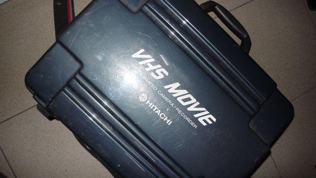 Kamera VHS Hitachi VM-500E z walizką made in japan kolekcjonerska