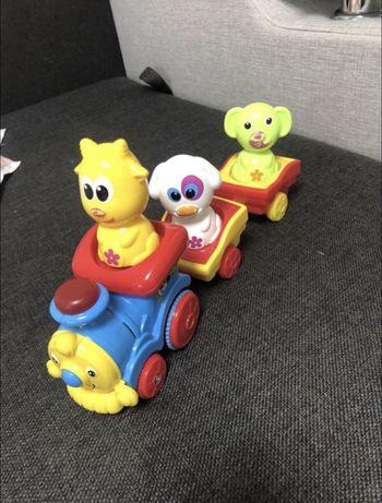 Музична іграшка bebelino паровозик із тваринами