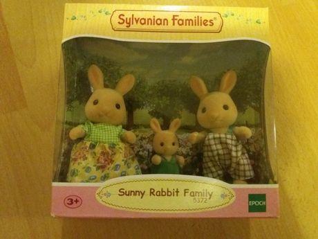 Sylvanian families rodzina zajączka