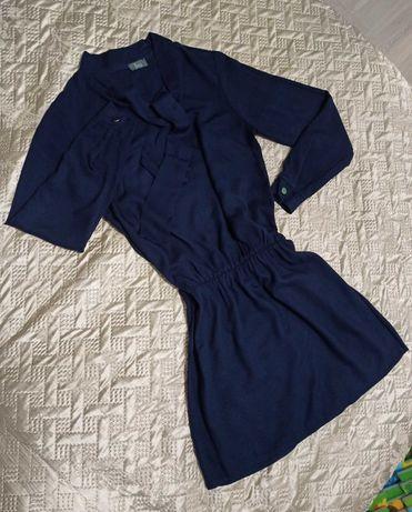 Granatowa sukienka Bocca
