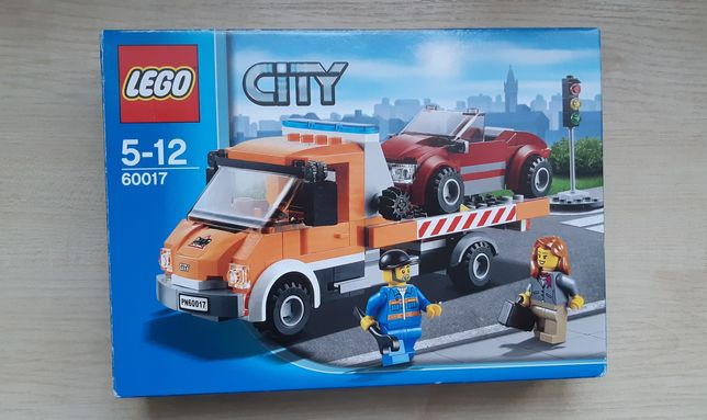 LEGO City 60017 Laweta klocki 212 elementów ,wiek 5-12