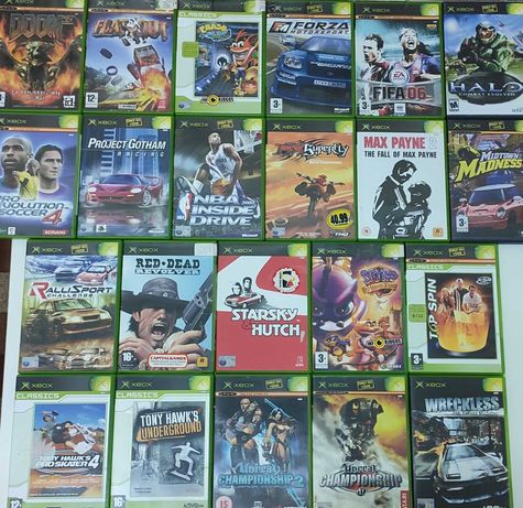 21 Jogos Xbox Spyro Crash Red Dead Forza Tony Hawk Doom Halo Max etc