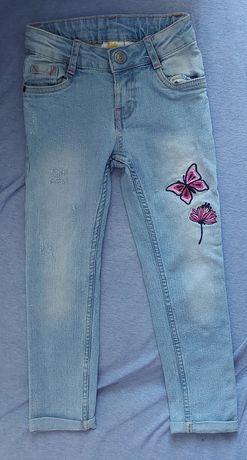 Spodnie jeansowe rozmiar 104