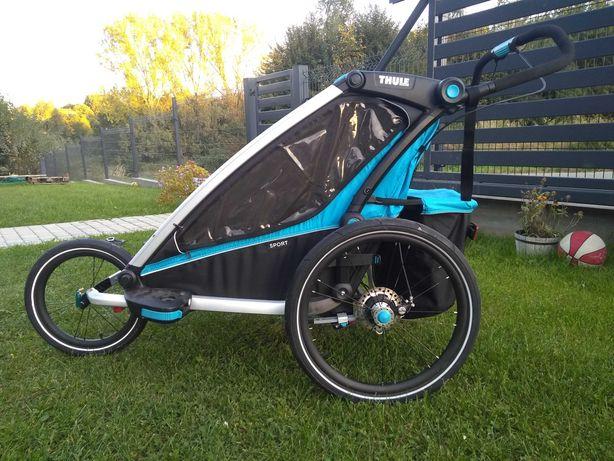 Przyczepka rowerowa Thule Chariot Sport 2 + jogger