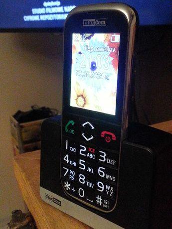Telefon Maxcom MM720BB dla seniora