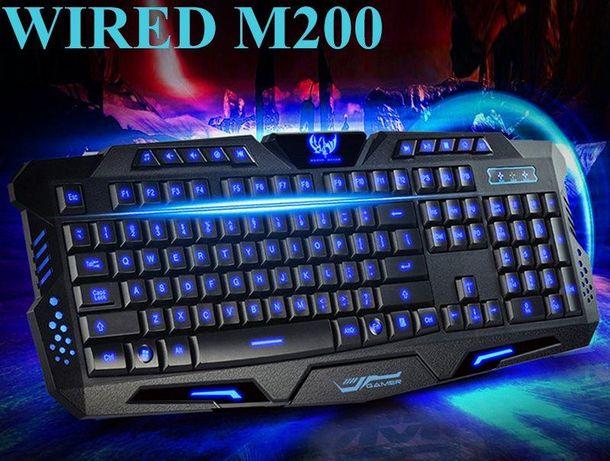 Клавиатура игровая с 3-цветной подсветкой М200