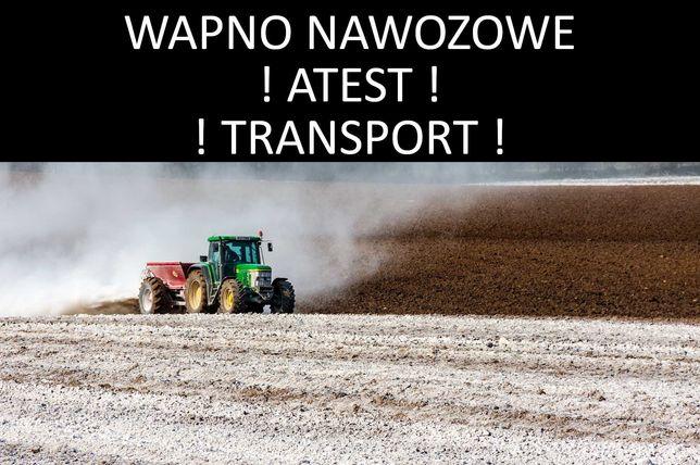 Atestowane Wapno Nawozowe - Faktura VAT