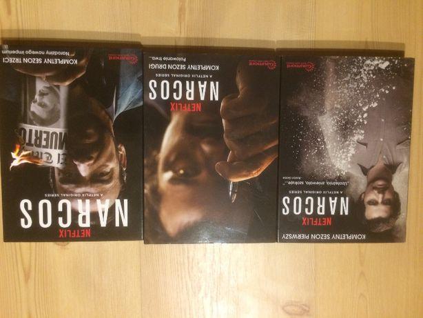 Narcos Sezon 2 DVD serial II Netflix