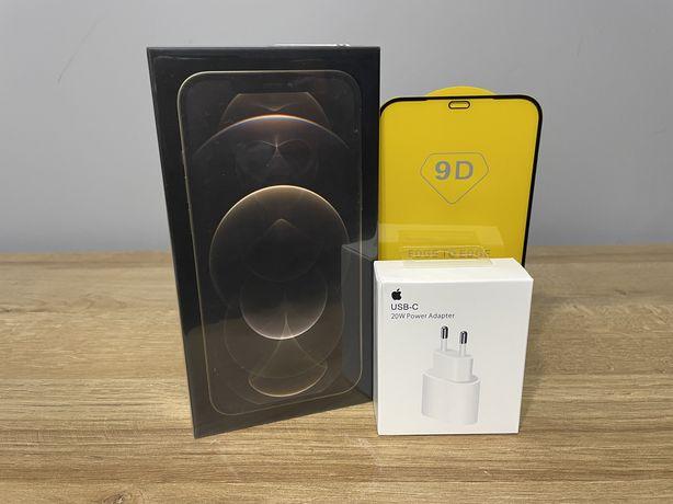 Nowy iPhone 12 Pro Max 128GB Gold/Złoty + ładowarka (zamiana)