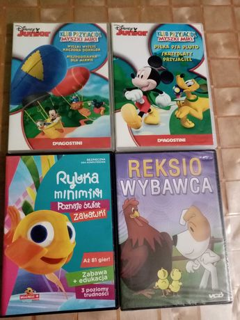 Bajki dla dzieci na płytach DVD