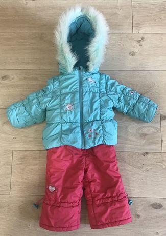 Зимний костюм, комбинезон и куртка