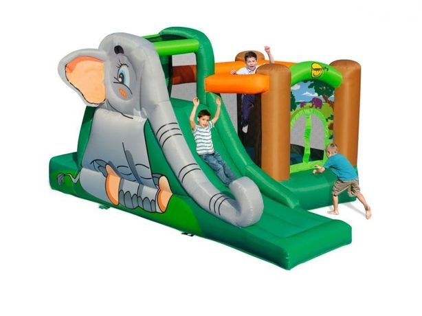 Dmuchany plac zabaw Happy Hop - Jaskinia słonia dmuchaniec