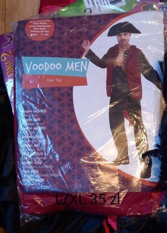 Stroj karnawalowy voodoo man L/XL