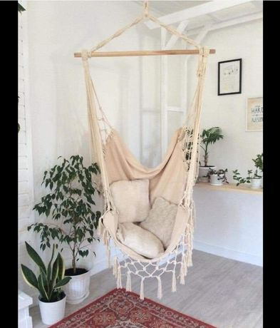 Cadeira baloiço hammock nova