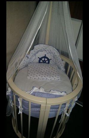 Срочно! Детская кроватка Stokke. Дерево.