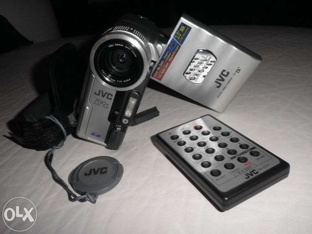 Câmara de vídeo jvc mini dv