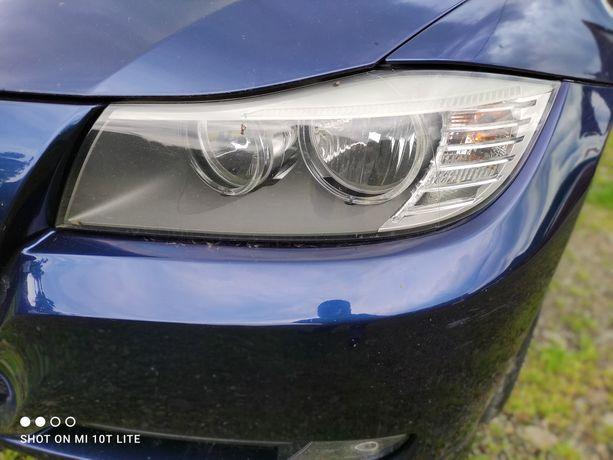 BMW E90 E91 LCI Lift lampa lewa  UK