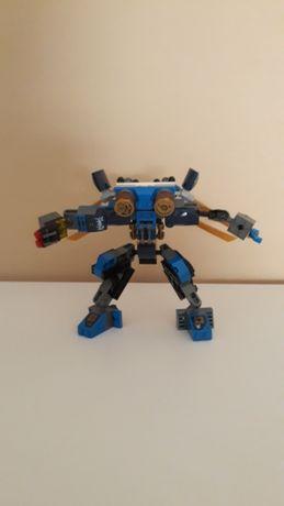 Lego  Robot niebieski