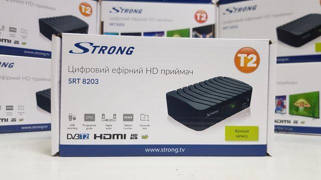 Приставка Т2 DVB-T2 Strong SRT 8203 IPTV YouTube MeGoGo приемник ресив