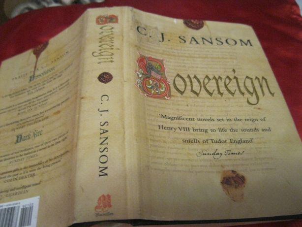 C. J. Sansom Sovereign книга на английском языке The Shardlake series