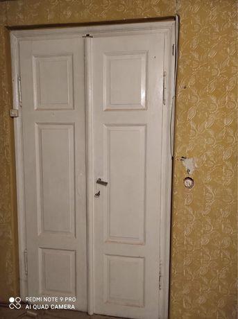 Drzwi drewniane (3 pary)