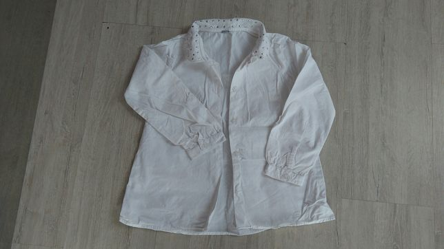 Koszula wizytowa dziewczęca rozmiar 122
