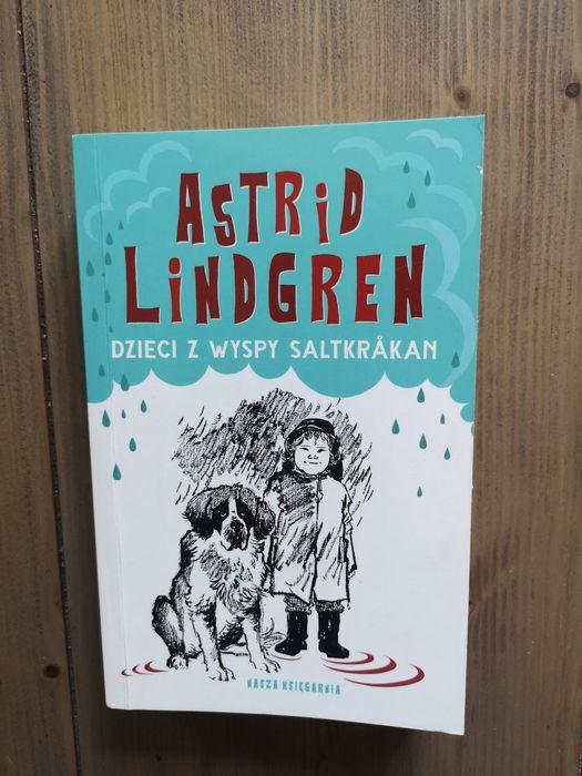 """Książka Astrid Lindgren pt. """"Dzieci z wyspy Saltkrakan"""". Zabrze - image 1"""