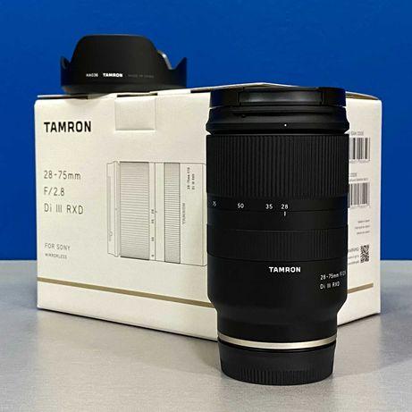 Tamron 28-75mm f/2.8 Di III RXD (Sony FE) - NOVA - 5 ANOS DE GARANTIA