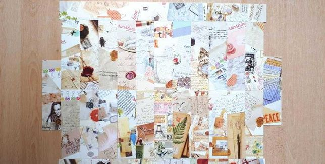 Zakładki kartonowe do książek 30 sztuk różne [9]
