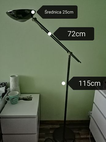 Lampa stojąca loft
