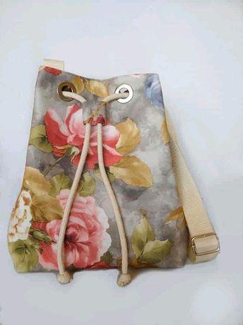 Torebka worek bucket bag