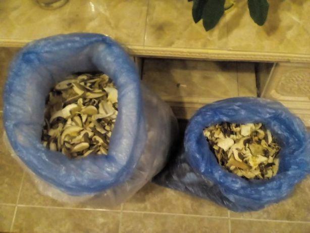 Грибы белые сушеные гриби білі сушені сухі C