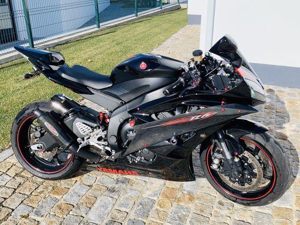 Yamaha R6 (20 mil RPM) não se aceitam trocas.