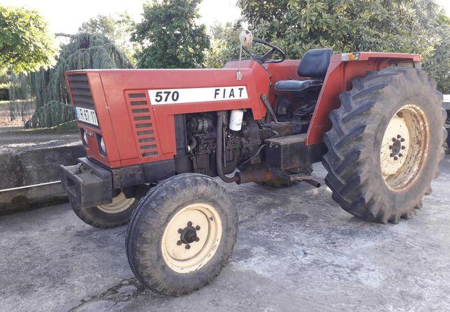 Trator Fiat 570  57 cv