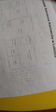 Pomieszczenie do wynajęcia BIURO/SALA WYKLADOWA/GABINET 42M2