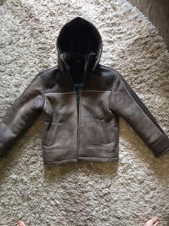 Дубленка Детская Новая Зимняя Куртка Пуховик Ветровка