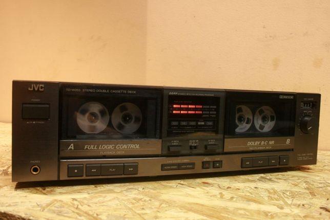 Unikat! Tytan Deck Ideał! Magnetofon dwukasetowy JVC TD-W253 /Wysyłam!